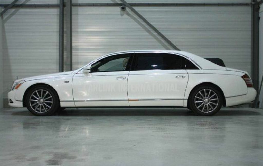 Maybach Laundaulet Limo